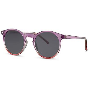 Sunglasses unisex panto cat. 3 purple/black
