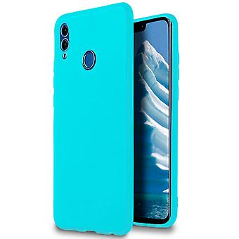 Soft Shell per Huawei Honor 8X in TPU Silicone Turquoise