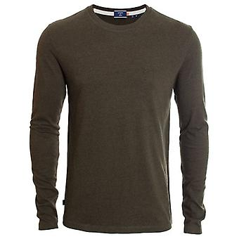 Superdry Ol Vintage Borduurwerk L/s T-shirt Winter Khaki Grit