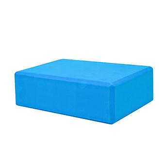 Ganvol Set of 2 High Density Yoga Blocks 23x15x7.5cm, Comfortable EVA Foam Bricks, Blue