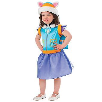 Everest Nickelodeon tassu Patrol naisten Husky pentu pentu taapero tyttöjen puku 2-4