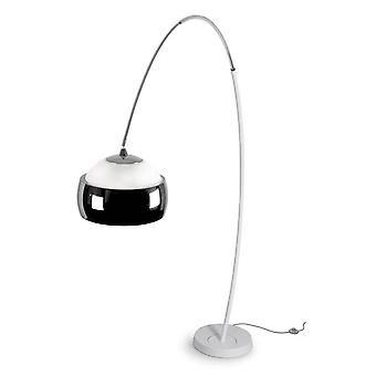 1 Light Adjustable Floor Lamp White, E27