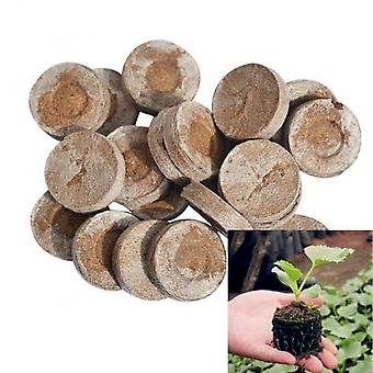 25mm Jiffy Peat Pellets Seed Starting Plugs, Seedling Soil Block