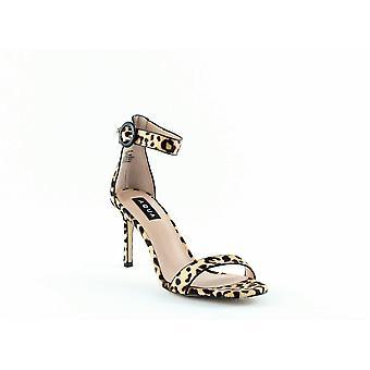 Aqua | Sieben Leopard Print High-Heel Sandalen
