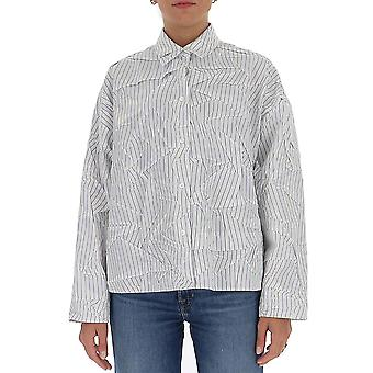 Mm6 Maison Margiela S32dl0266s53283002f Women's White Cotton Shirt