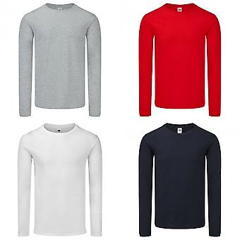 Fruit of the Loom Mens Iconic 150 Long-Sleeves T-shirt
