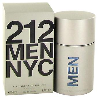 212 Eau De Toilette Spray (nuovo Packaging) di Carolina Herrera 1.7 oz Eau De Toilette Spray