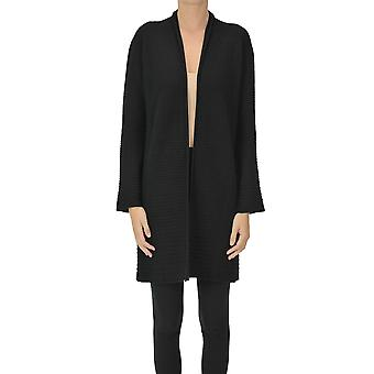 Anneclaire Ezgl112035 Women's Black Other Materials Cardigan