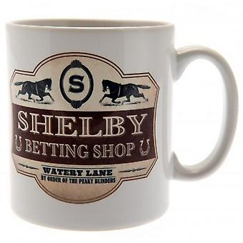 Peaky Blinders Betting Shop Novelty Mug