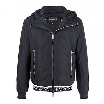 Emporio Armani Hooded Jacket Black 6H1BL6 1NYAZ