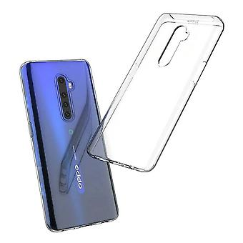 Hull For Oppo Reno 2, High Quality Silicone Protective Cover, Transparent