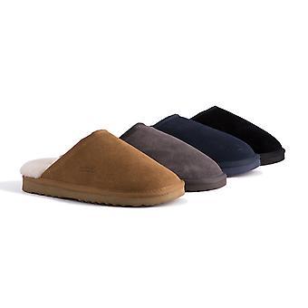 Aus Wooli Australia Unisex Genuine Au Sheepskin Scuff Slippers