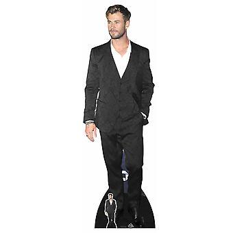 Chris Hemsworth White Shirt Celebrity Lifesize Cardboard Cutout / Standee