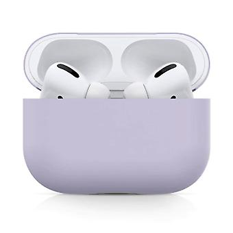 SIFREE Flexible Case for AirPods Pro - Silicone Skin AirPod Case Cover Flexible - Purple