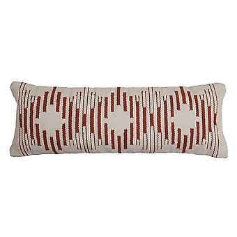Handmade Diamond Lumbar Pillow