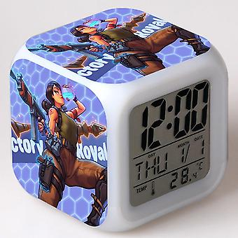 Colorful Multifunctional LED Children's Alarm Clock -Quinze dias #27