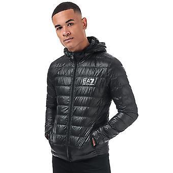 Emporio armani ea7 men's black down bubble jacket