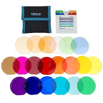 Rogue Grid Flash Gel Kit für 3-in-1 Gitter-Gitter-Gels Combo-Filter-Kit
