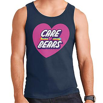 Care Bears Unlock The Magic Pink Heart Men's Vest