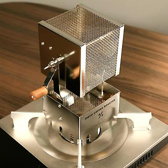 Far-infrared Network Coffee Roaster Wood Hand Baked Beans 304 Stainless Steel