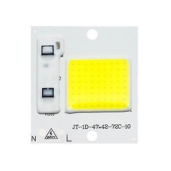 Led Cob Chip Diode Ac 220v 3-9w 10w 20w 30w 50w For Rectangular Light Matrix