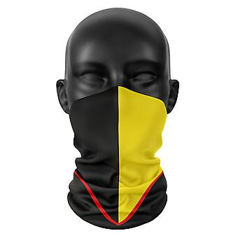 Watford FC Gesicht Maske Fußball Snood Kopf Schal Hals Gaiter Tube Buff Kopfbedeckung Tube