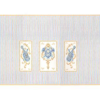 Dolls House Miniature Print 1:12 -asteikko klassisen musiikin huoneen taustakuva