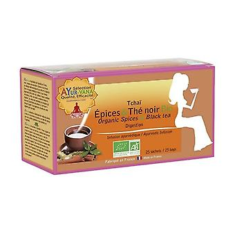Infusion Spices & Black tea 25 infusion bags