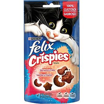 Felix Crispies Salmon and Trout  (Cats , Treats , Biscuits)