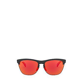Oakley OO9374 matte black ink unisex sunglasses