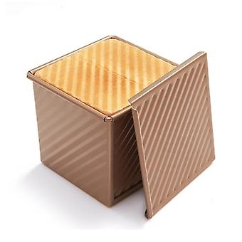 0.55lb Non-stick Loaf Tins, Toast Bread Baking Tins Corrugated