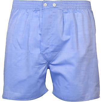 Derek Rose Amalfi Classic-Fit Boxer Shorts, Blue