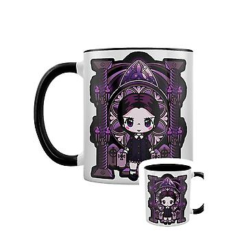 Mio Moon Miss Addams Inner Two Tone Mug