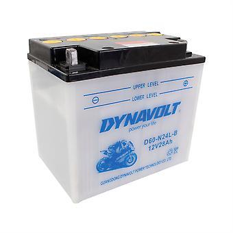 Dynavolt C60N24ALB High Performance Battery With Acid Pack