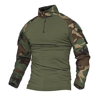 Uniforme de combate do Exército dos EUA Camisa Militar Carga Multicam Airsoft Roupas de Algodão