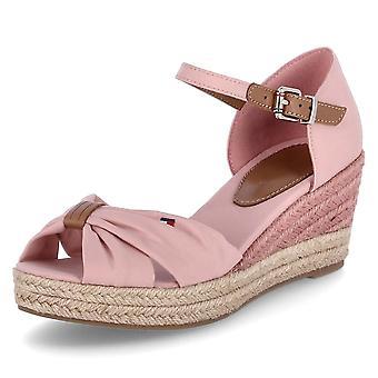 טומי הילפיגר בסיסי פתוח בוהן FW0FW04785TQS אוניברסלי הקיץ נשים נעליים