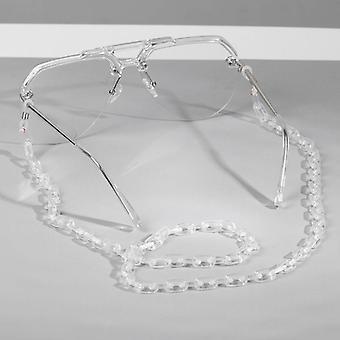 Leopard Acrylic Sunglasses Chain Chic Women Eyeglass Reading Glasses Eyewears