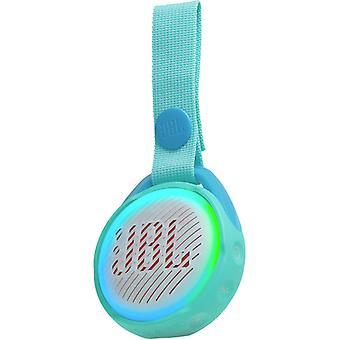 JBL JR POP altavoz Bluetooth portátil impermeable diseñado para niños - Aqua Teal