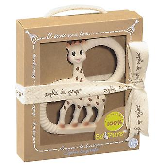 Sophie la Girafe SO'PURE natural rubber teething ring