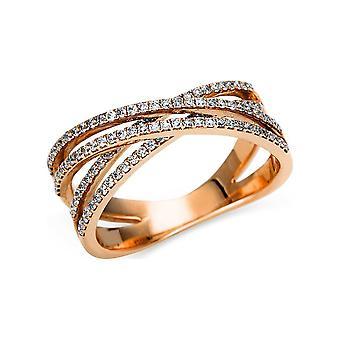 לונה יצירה Promessa טבעת מרובה אבן לקצץ 1U145R851-1 - רוחב טבעת: 51.5