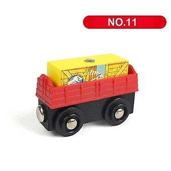 Magnetic Train Wooden Railway Track Accessories