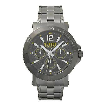 Versus by Versace Herren Uhr Armbanduhr Steenberg VSP520518 Edelstahl