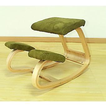 Ergonomic Kneeling Chair Stool Office Rocking Wooden Kneeling Computer Posture