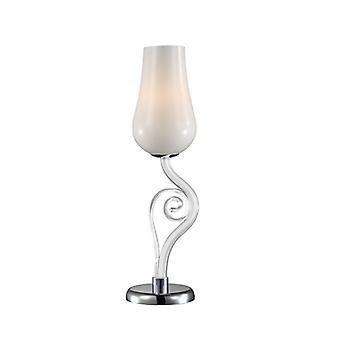 Lámpara De Escritorio Lybra Blanca Moderna