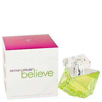 Acredito que o Eau De Parfum Spray por Britney Spears 1 oz Eau De Parfum Spray