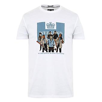 Weekend Offender 2109 'the Firm' 89 Graphic Print Half Sleeve T-shirt