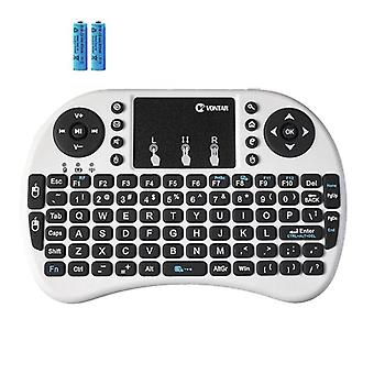 Wireless Keyboard Backlit Mini Air Mouse With Touchpad Remote Control