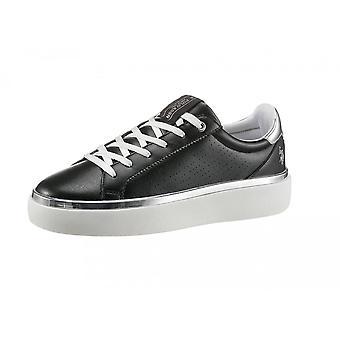 Schoenen Dames Us Polo Sneaker Lucy 103 In Ecopelle Black Ds21up06