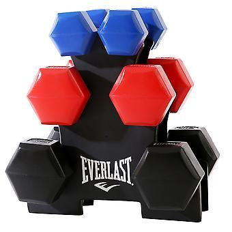 Everlast Unisex 12Kg Halter Set