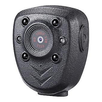 Hd 1080p Police Body Lapel Worn Video Camera  (black)